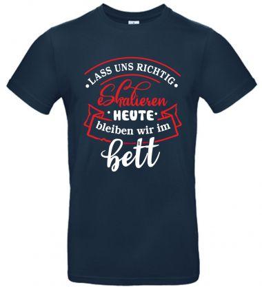 Shirt Lass uns eskalieren