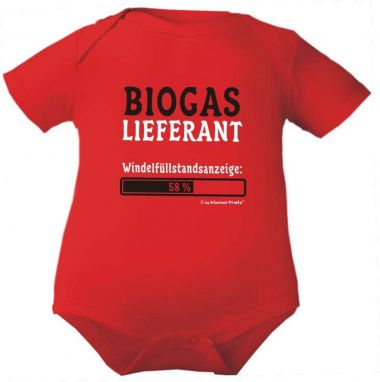 farbiger Baby Body Biogaslieferant