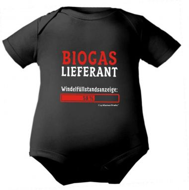 farbiger Baby Body Biogaslieferant