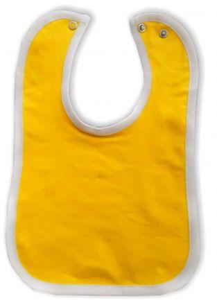 Baby Lätzchen mit farbigen Saum