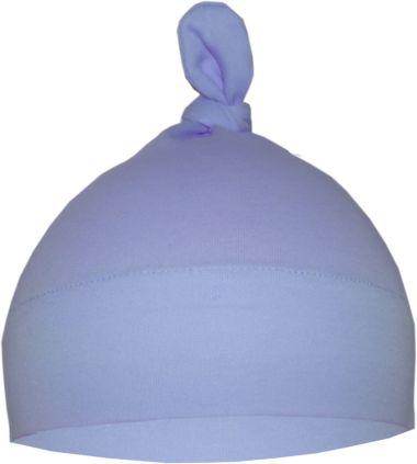 1-Zipfel Baby Mütze einfarbig