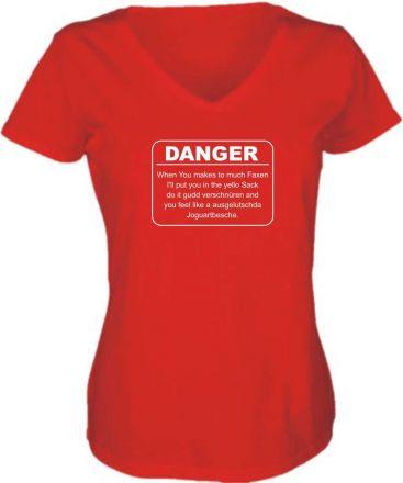 Baseball T-Shirt Ich will einmal mit Profis arbeiten / NEU