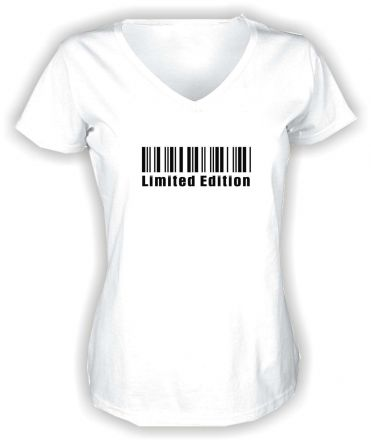 Lady V-Neck T-Shirt LIMITED EDITION