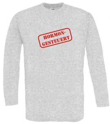 Langarm T-Shirt für Schwangere Hormongesteuert