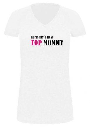 Lady LONG T-Shirt für Schwangere Germanys next Top Mommy