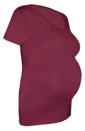 Lady LONG T-Shirt für Schwangere Liebe macht blind und dick