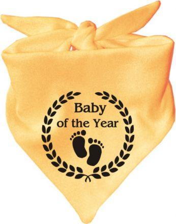 Baby Halstuch mit Druck Baby of the year