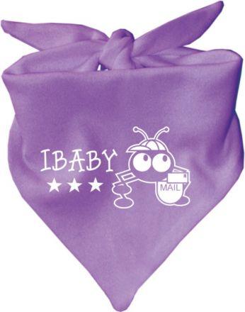 Baby Halstuch mit Druck I-Baby / AUNTI
