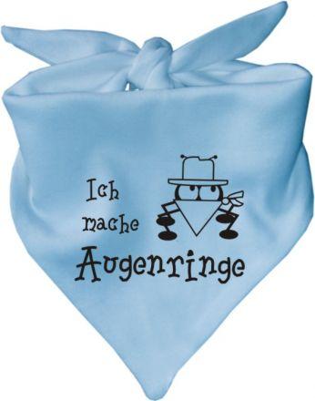 Baby Halstuch mit Druck Ich mache Augenringe / AUNTI