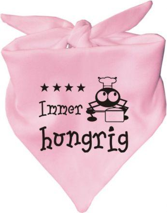 Baby Halstuch mit Druck Immer hungrig / AUNTI