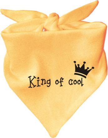 Baby Halstuch mit Druck King of Cool / TEXT