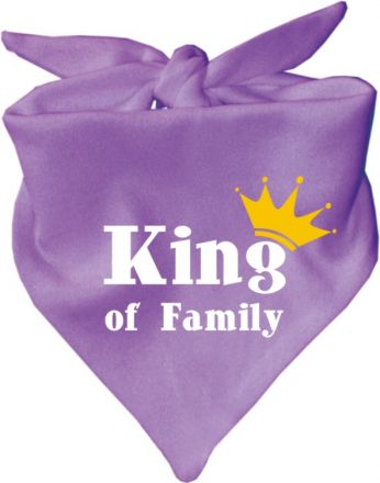 Baby Halstuch mit Druck King of family