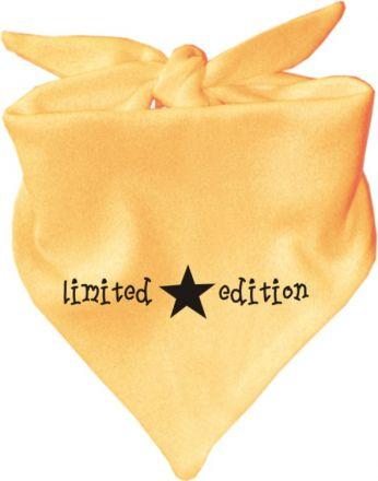 Baby Halstuch mit Druck Limited Edition / TEXT