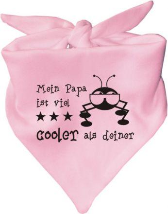 Baby Halstuch Mein Papa ist viel cooler als deiner / AUNTI