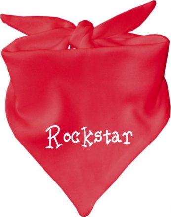 Baby Halstuch mit Druck Rockstar