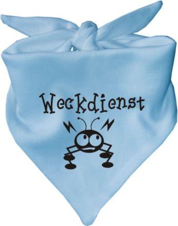 Baby Halstuch mit Druck Weckdienst / AUNTI