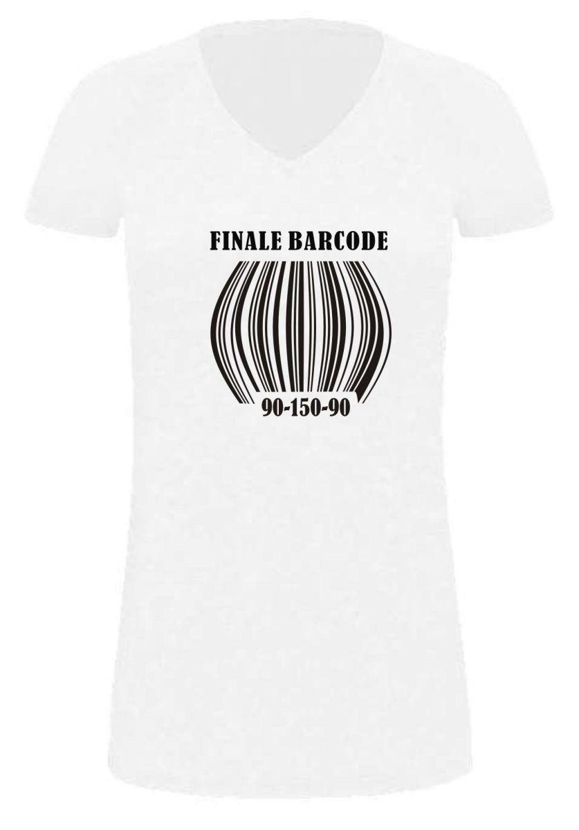 lady long t shirt f r schwangere finale barcode. Black Bedroom Furniture Sets. Home Design Ideas