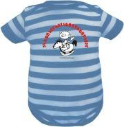 Baby Beanie Mütze Sommer Stripes mit Mein Papa ist cooler /FAT