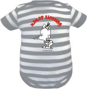 Baby Beanie Mütze Sommer Stripes mit Rockstar