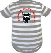 Baby Beanie Mütze Sommer Stripes mit Oma war da