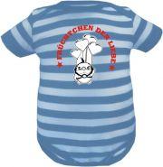 Baby Beanie Mütze Sommer Stripes mit Ich bin die Süße von der alle reden