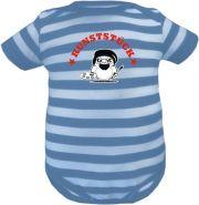 Baby Beanie Mütze Sommer Stripes mit Papas Meisterstück /FAT