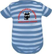 Baby Mütze 1-Zipfel Sommer Stripes mit Sag einfach Prinzessin zu mir