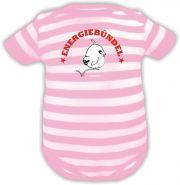 Baby Mütze 1-Zipfel Sommer Stripes mit Nur schauen nicht anfassen /FAT