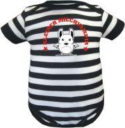Baby Mütze 1-Zipfel Sommer Stripes mit Großer Bruder /FAT