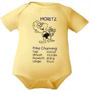 Baby Body Prinz Charming und Geburtsdaten des Babys