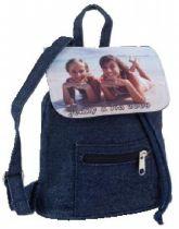 Mini-Rucksack Jeans, Farbe Jeans, Größe 230x170x75 mm