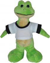 Frosch Joschka mit T-Shirt
