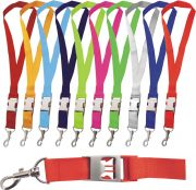 Lanyard with integrated BOTTLE OPENER - 25 mm