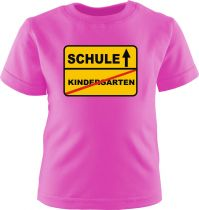 Baby und Kinder Kurzarm T-Shirt SCHULE