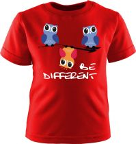 Baby und Kinder Kurzarm T-Shirt kurzarm Be Different