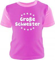 Baby und Kinder Shirt Multicolor Große Schwester /COOK