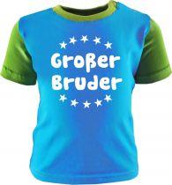Baby und Kinder Shirt Multicolor Großer Bruder