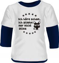 Baby und Kinder Shirt Langarm Multicolor Ich höre schon