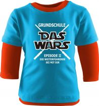Baby und Kinder Shirt Langarm Multicolor Grundschule