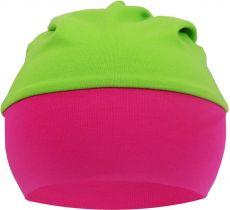 Baby Beanie Mütze mit breiten Bund Multicolor