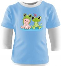 Baby und Kinder Shirt Multicolor Kleiner Fratz & Friends Frosch