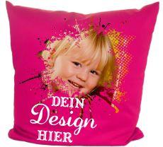 Kissenbezug 40 x 40 cm Baumwolle / farbig