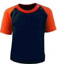 Kinder Raglan Baseball Kurzarm T-Shirt