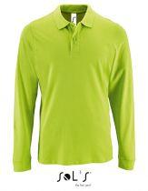 Langarm Polo Shirt 180 g/qm