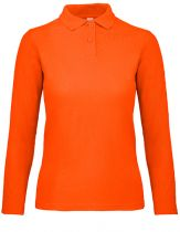 Ladie Langarm Polo Shirt 180 g/qm