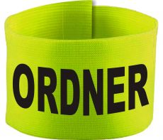 adjustable Velcro armband with ORDNER / 10 cm height