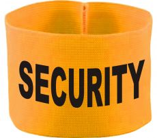 rubber elastic armband / mediaband with SECURITY / 10 cm height