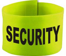 adjustable Velcro armband with SECURITY / 10 cm height
