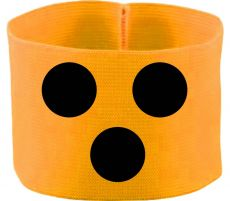 rubber elastic armband / mediaband with Blindenpunkte / 10 cm height