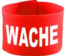 adjustable Velcro armband with WACHE / 10 cm height